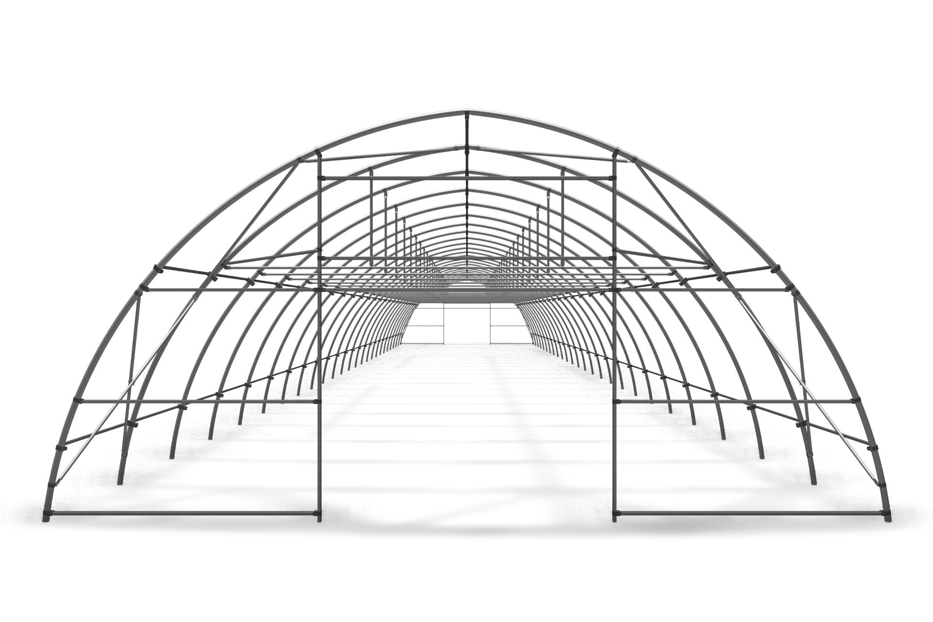 Теплица туннельная арочная 8,0х4,00 м